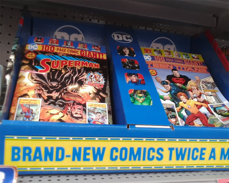 10c1d6af5 Finally saw the Walmart DC comics. They had #1s mixed in with #2s.