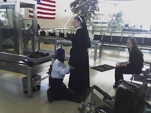 Muslim TSA Agent and Nun